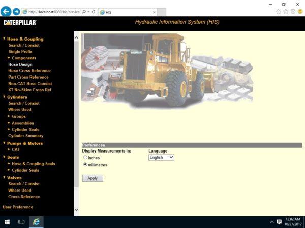 Hydraulic Information System