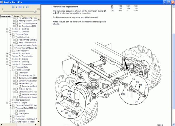 نرم افزار راهنما و تعمیرات JCB Compact Service Manual