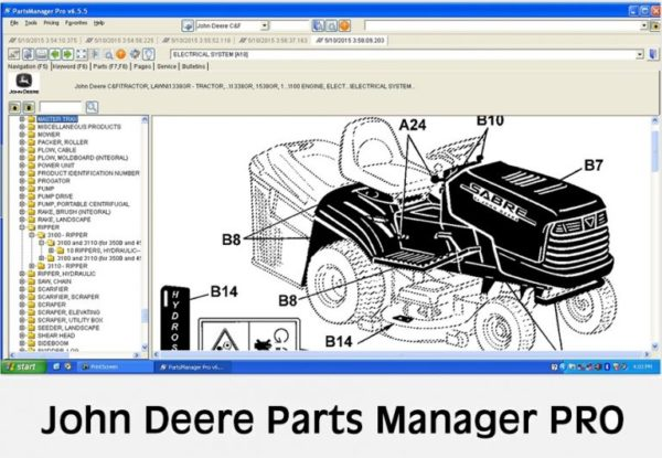 John Deere Parts Manager PRO