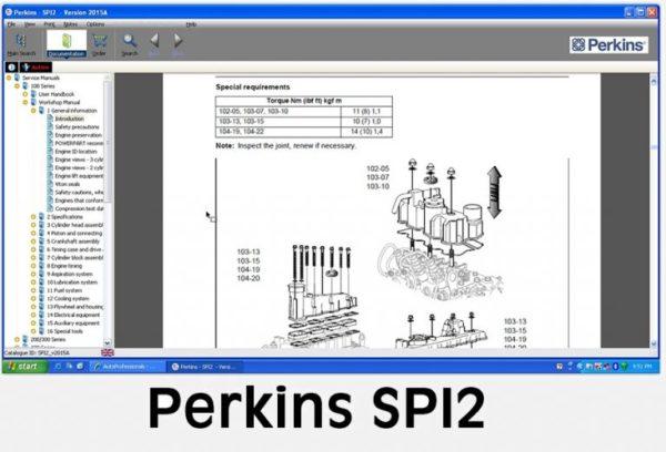 Perkins SPI2 2015A