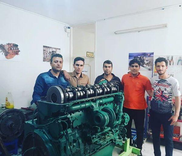 دوره آموزش موتور و سوخت رسانی ولوو