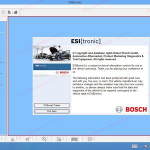 Bosch Esi Tronic V1 & V2