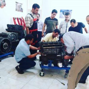 دوره آموزش موتور و سوخت رسانی ایسوزو P700