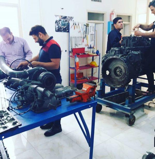 دوره آموزش موتور و سوخت رسانی اسکانیا